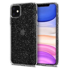 Etui Spigen Liquid Crystal Glitter Apple iPhone 11 Crystal Quartz
