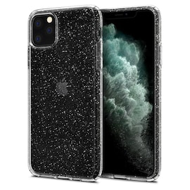 Etui Spigen Liquid Crystal Glitter Apple iPhone 11 Pro Crystal Quartz