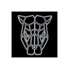 Face LED Light Up Sound Activated Mask  | Full-Face - Bull