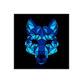 Face LED Light Up Sound Activated Mask  | Full-Face - Fox