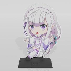 Figurka Emilia Re:Zero Multi-Color