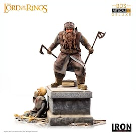 Figurka Gimli 21 cm Lord Of The Rings Deluxe BDS Art Scale Statue 1/10