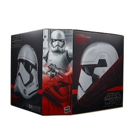 First Order Stormtrooper Helmet - Star Wars The Black Series (Premium Replica) - Hasbro White
