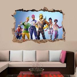 Fortnights Goodlife Strong Wall Decals Self Adhesive Home Decoration Cartoon Game
