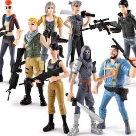 Fortnites Figurine Decoration Toy Jedi Survival Battle Royale Garage Kit Model 4.5 inch