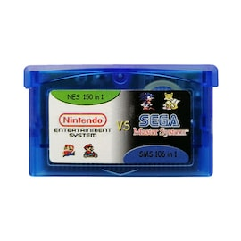 Gameboy Advance Multicart GBA Cartridge 150 NES + 106 SMS Games in 1 AUS SELLER Gaming