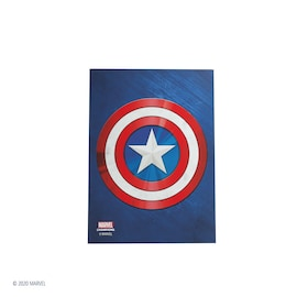 Gamegenic: Marvel Champions Art Sleeves (66 mm x 91 mm) Captain America 50+1 szt.