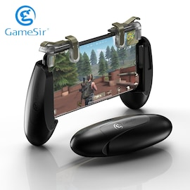 GameSir F2 Mobile Gaming Controller with Shooting Trigger Buttons for iOS and Android Black