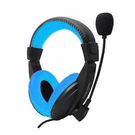 Gaming Headphones Deep Bass Stereo  Blue