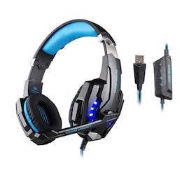Gaming Headset for PlayStation PS4 Tablet PC 3.5mm Headphone Mic for Laptop