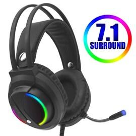 Gaming Headset Gamer 7.1 Surround Black