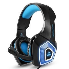 Gaming Headset headphones Blue