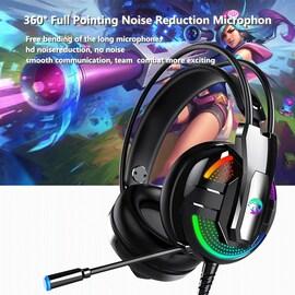 Gaming Headset Xbox one PS4 Headphones Black