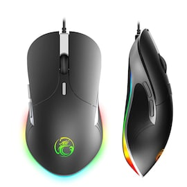 Gaming Mouse X6 High configuration 6400 DPI Optical Black
