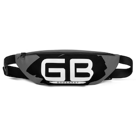 GB-ST1 Minimal Modern Grey And Black Fanny Pack | S/M & M/L Sizes.