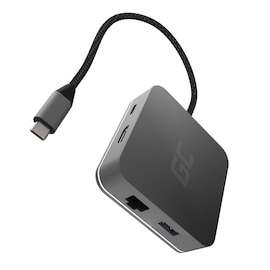 GC® Docking Station, Adapter, HUB USB-C HDMI - 7 ports for MacBook Pro, Dell XPS, Lenovo X1 Carbon and others