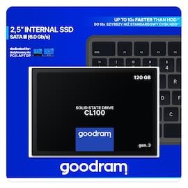 Goodram Cl100 Gen. 3 2.5″ 120 Gb Sata Iii (6 Gb/s) 500Mb/s 360Ms/s