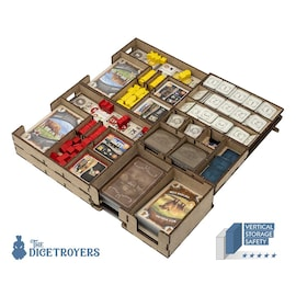 Great Western Trail (Base Game Or With Rails To The North Exp) Organizer Insert