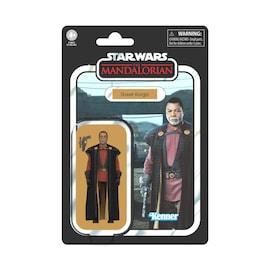 Greef Karga (The Mandalorian Series) - Star Wars S3 Retro Figures Assortment - Hasbro Black/Red