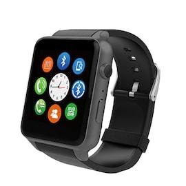 GT88 GSM Sport Smart Watch - Pedometer, Heart Rate Tracker, Bluetooth 4.0, 2.0 MP Camera - Black
