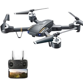 GW58/XT-1 Folding Selfie Drone with Camera HD Headless Mode Hover Quadcopter Wifi FPV RC Quadrocopter - 30W