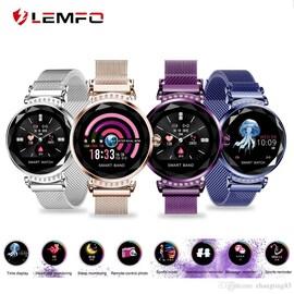 H1 Waterproof Women Lady Fashion Smart Watch Bracelet Sport Fitness Tracker Purple CHINA