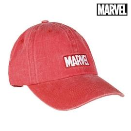 Hat Baseball Marvel 75332 Red (58 Cm)