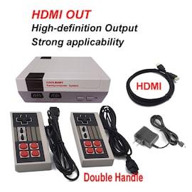 HDMI NES Mini Classic Edition Retro Video Games Console with 2 Controllers Built-in 600 Classic Nintendo Games