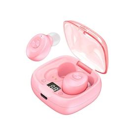 Headset In-ear Bluetooth Pink