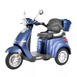 Hecht Citis Max Blue Wózek Skuter Elektryczny Inwalidzki Dla Seniora Akumulatorowy E-Skuter Motor