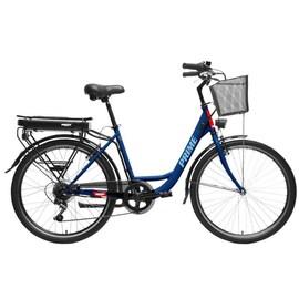 Hecht Prime Blue Rower Elektryczny Miejski Trekkingowy Rekreacyjny Damski Akumulatorowy