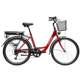 Hecht Prime Red Rower Elektryczny Miejski Trekkingowy Rekreacyjny Damski Akumulatorowy