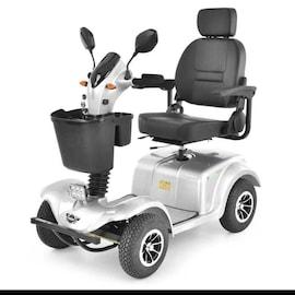Hecht Wise Silver Wózek Skuter Elektryczny Inwalidzki Pojazd Czterokołowy Dla Seniora Akumulatorowy