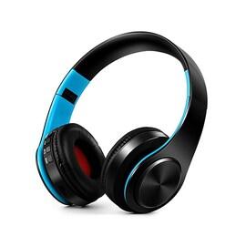 HIFI stéréo écouteurs bluetooth casque Blue