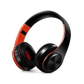 HIFI stéréo écouteurs bluetooth casque Red