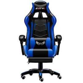 High-qualityx computer chair WCG gaming chair office chair LOL Internet cafe racing chair Black