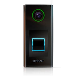 HIPCAM Doorbell Smart Home Security WiFi FullHD IR Nigth Vision 2 way Audio&Video, IP66 Face&Person detection