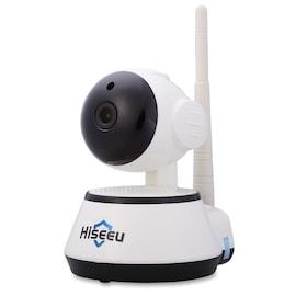 Hiseeu HSY-FH2 Indoor 720P Wireless IP Cam IR-Cut Night Vision Mini Rotatable Smart Security US PLUG