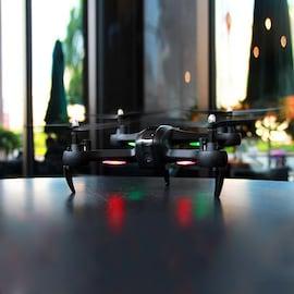 HR SH7 1080P WIFI FPV Camera RC Drone Remote Control Quadrocopter Drone with Camera