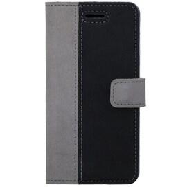 Huawei Mate 10 Lite / Honor 9i- Surazo® Phone Case Genuine Leather- Nubuck Gray and Black