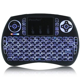 iPazzPort 21S Wireless Mini Keyboard Backlight Function with Touchpad ENGLISH