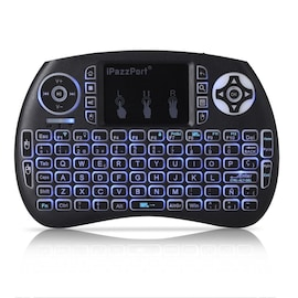 iPazzPort 21S Wireless Mini Keyboard Backlight Function with Touchpad SPANISH