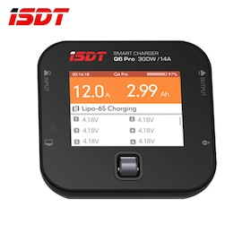 ISDT Q6 Pro BattGo 300W 14A Pocket Lipo Battery Balance Charger Portable Charger (PRODUCT)REDTM