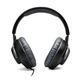 JBL QUANTUM100 7.1 Foldable Gaming Headset with Microphone Compatible with all Devices  Black