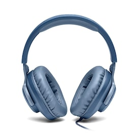 JBL QUANTUM100 7.1 Foldable Gaming Headset with Microphone Compatible with all Devices  Blue