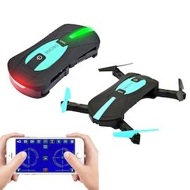 JYO180 Mini Drone - 2.4GHz WiFi Control, 720p HD Camera, 6 Axis Gyro, App Control, 500mAh, 30m Range, FPV, 3D
