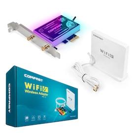 Karta sieciowa Wi-Fi na PCI-E AX3000 Wi-Fi 6 ARGB