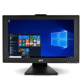 KOMPUTER ALL-IN-ONE NTT AIO BASIC 21,5'' - Windows 10 Home AMD Ryzen 3 3200G 8 GB AMD Radeon Vega 8 240 SSD (Solid State Drive) Black