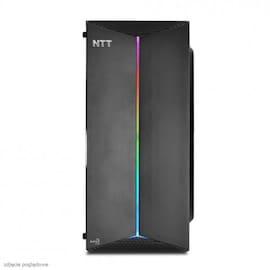 KOMPUTER DO GIER NTT GAME R Windows 10 Home AMD Ryzen 5 3400G 16 GB NVIDIA GeForce GTX 1050Ti 240 SSD (Solid State Drive) Black