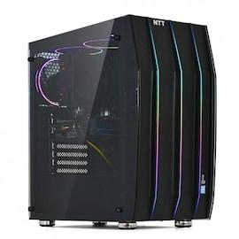 KOMPUTER DO GIER NTT GAME X Windows 10 Home Intel Core i7-9700F 16 GB NVIDIA GeForce GTX 1660 480 SSD (Solid State Drive) Black